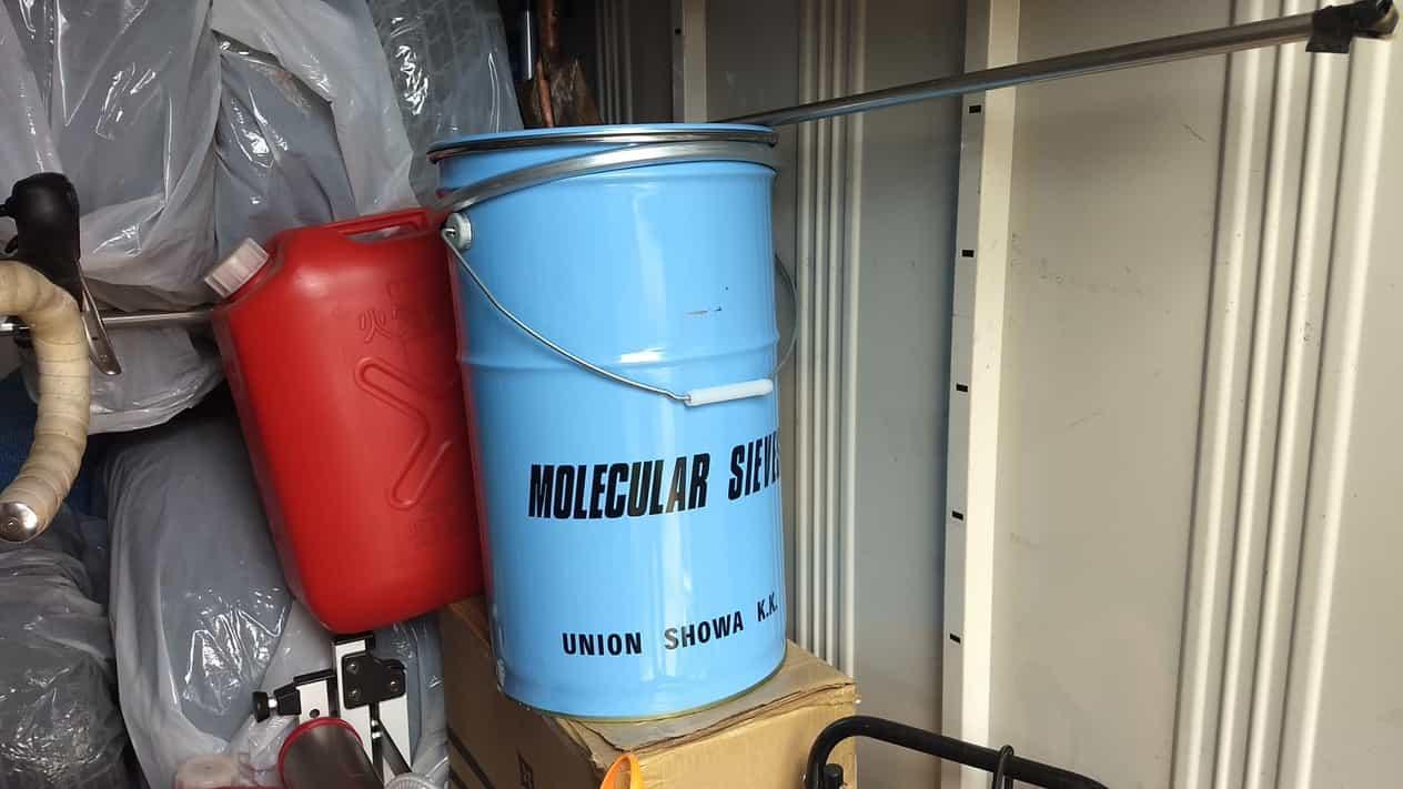防災用品ペール缶