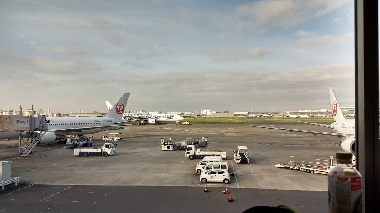 羽田空港第一ターミナルパワーラウンジ