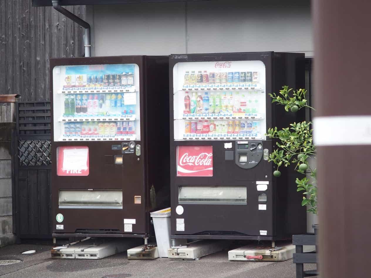 山口県萩市堀内の自販機