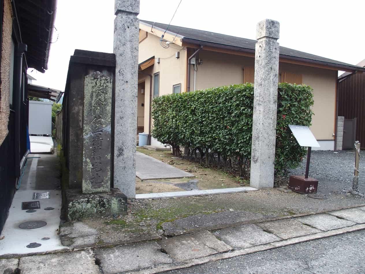 山口県萩市堀内の景観
