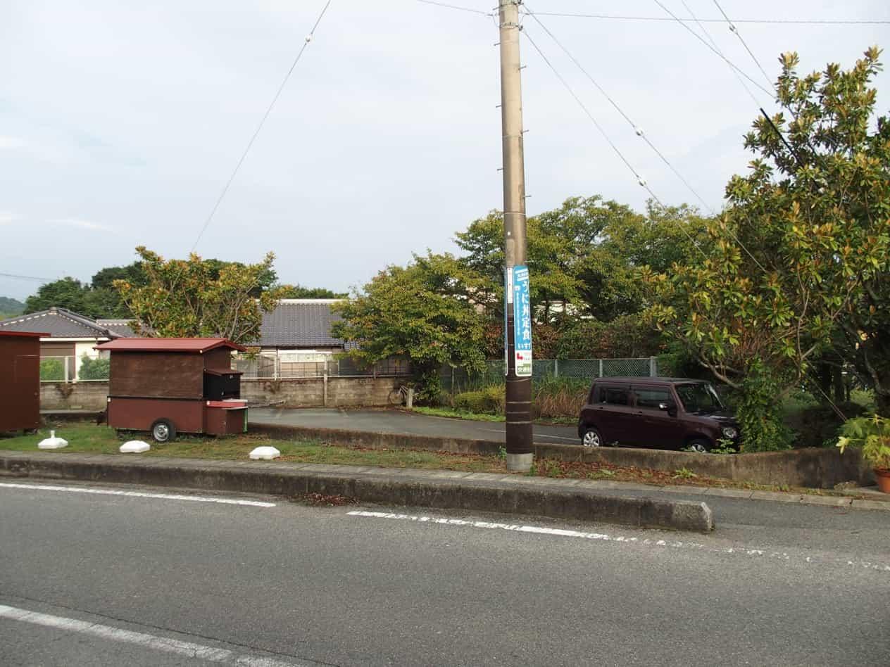 山口県萩市堀内の一般車両