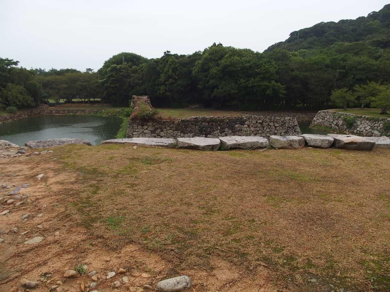 萩城天守閣跡