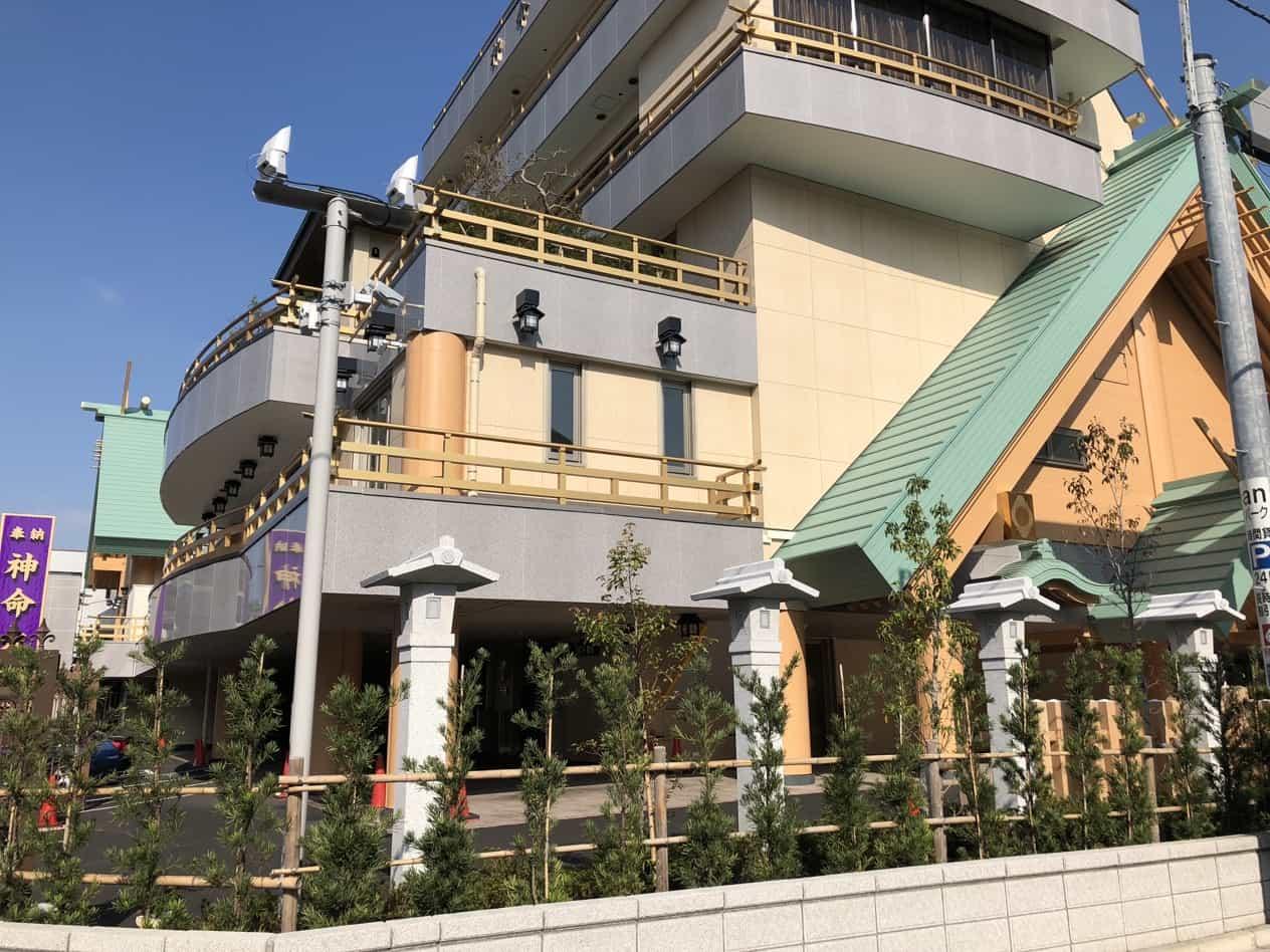 大田区糀谷の神明大神宮