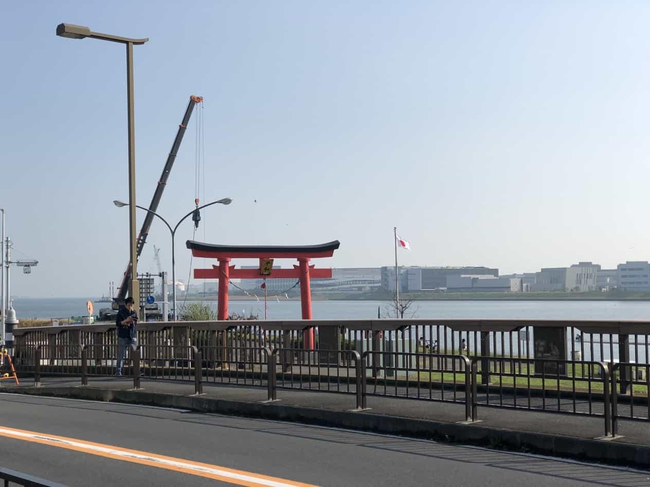 羽田空港の大鳥居