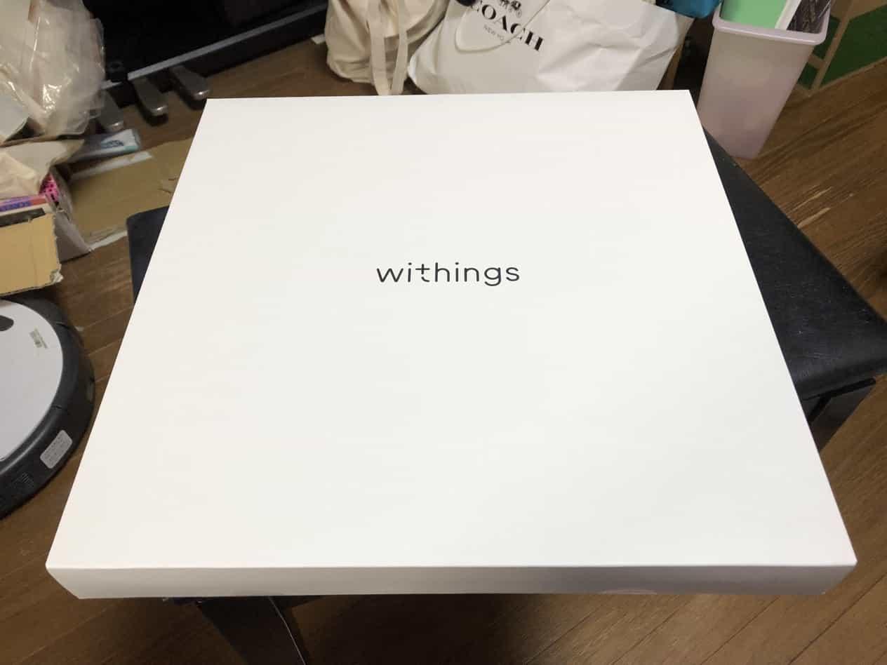Withings/NokiaのWi-Fi体重計