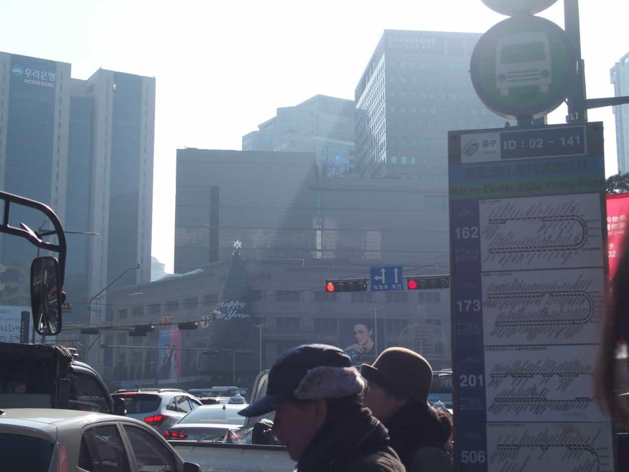 韓国空気クッソ悪い