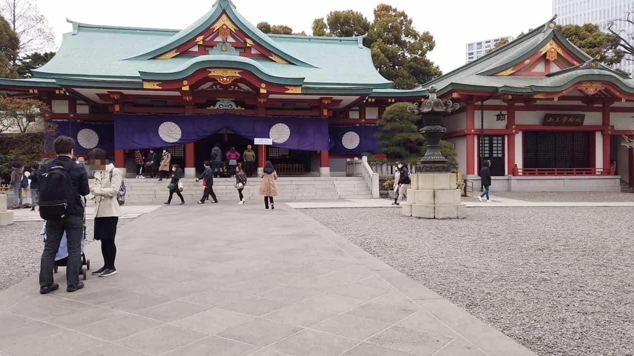 東京永田町日枝神社本殿