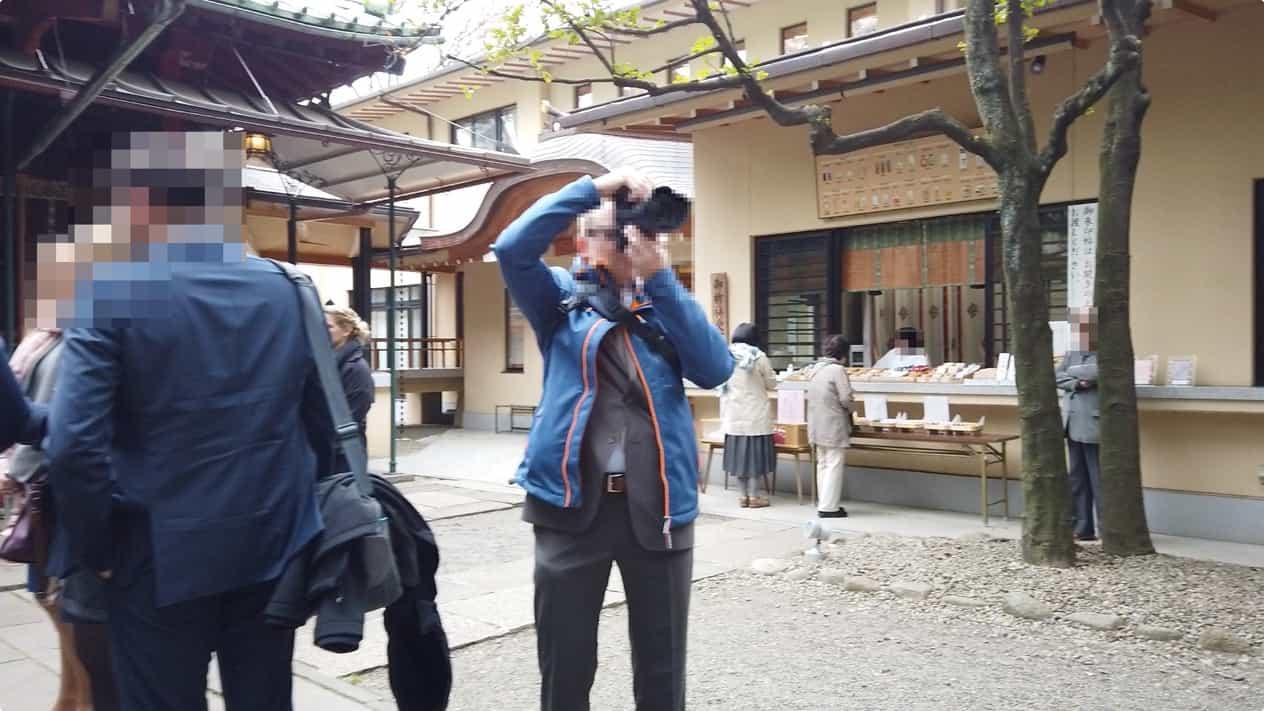 赤坂氷川神社御朱印授受所