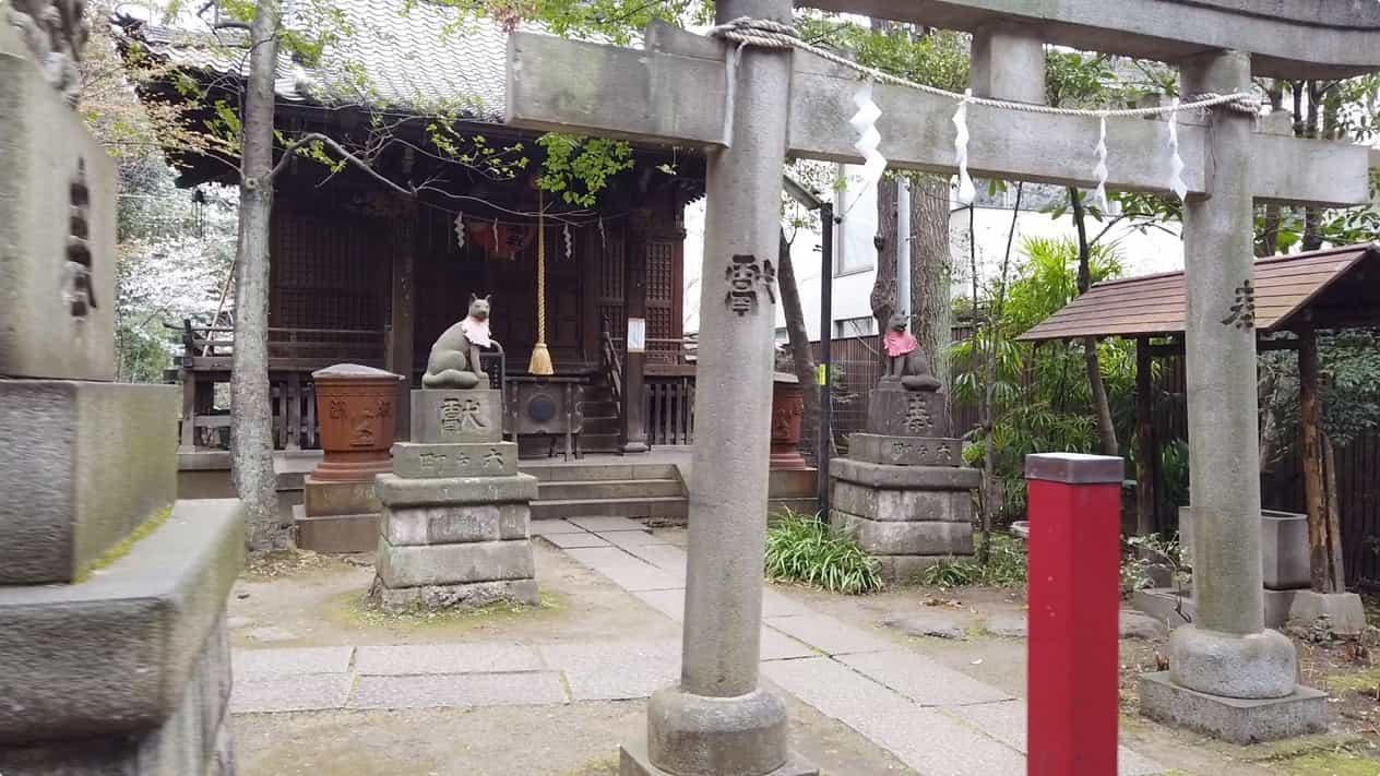 赤坂氷川神社末社四合稲荷神社