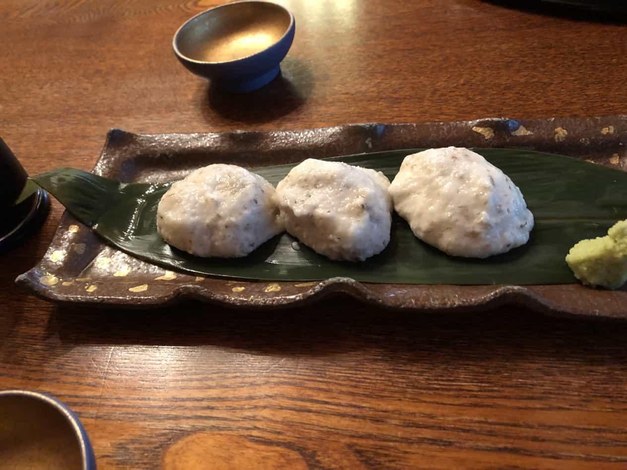 筑波山中腹にある食堂筑膳