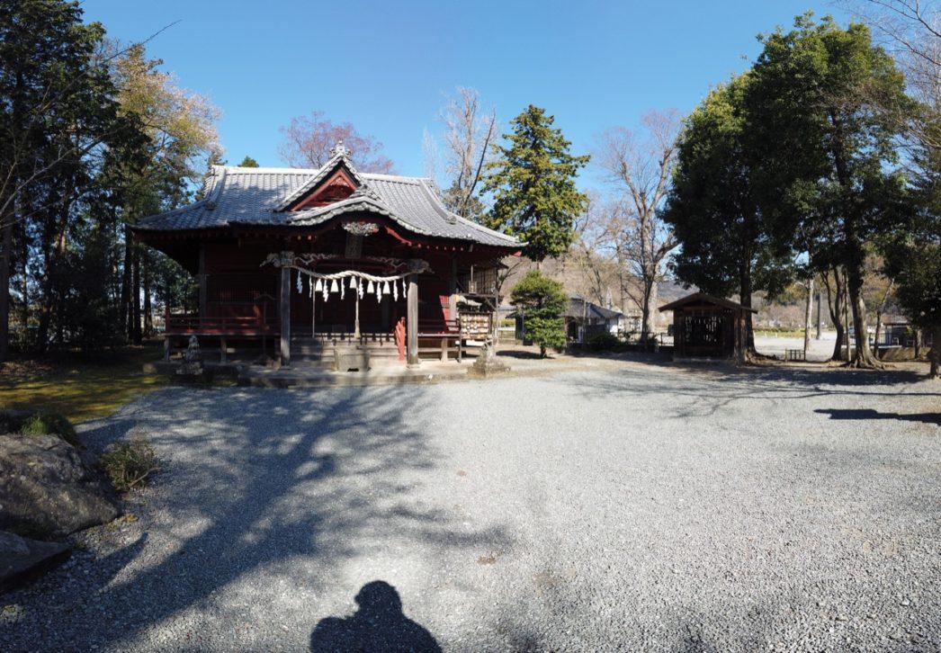 吉田椋神社拝殿