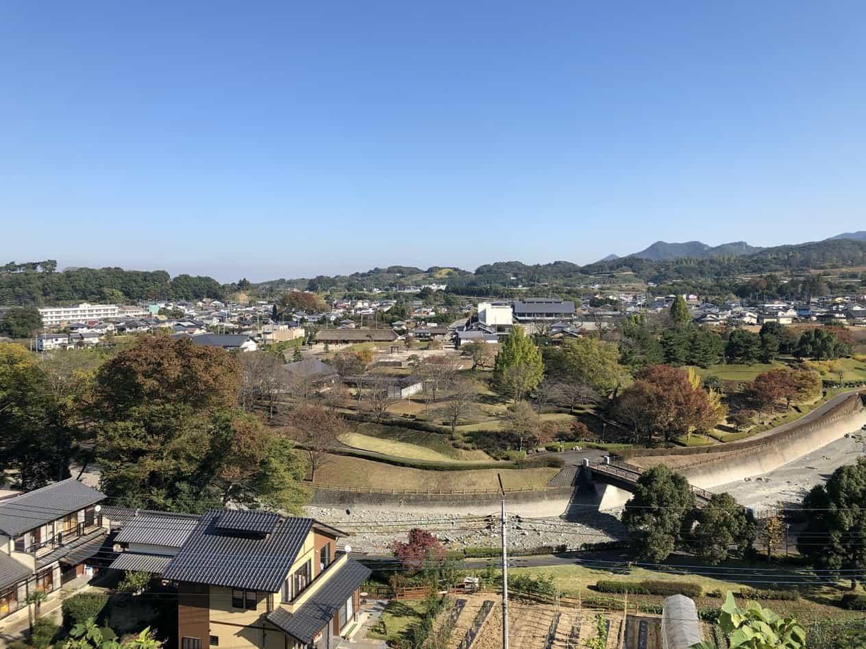道の駅甘楽そばの紅葉山