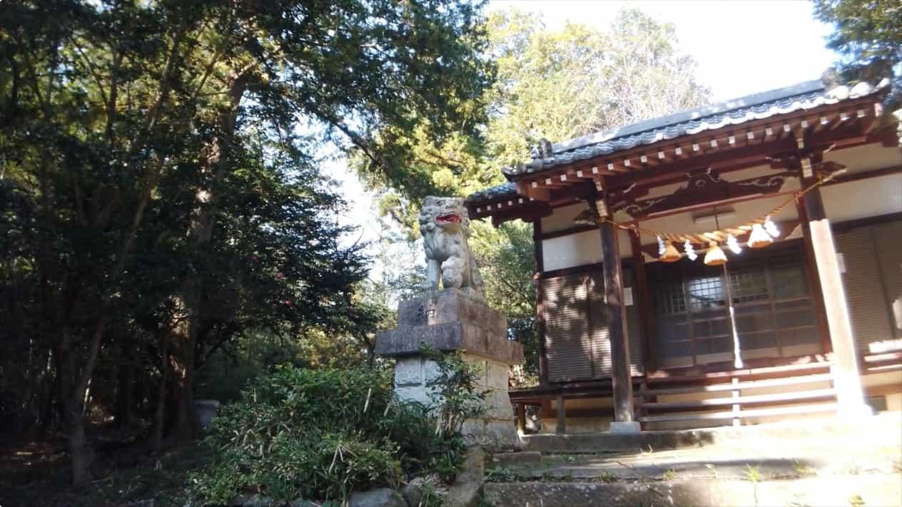 藤岡市神田の浅間神社