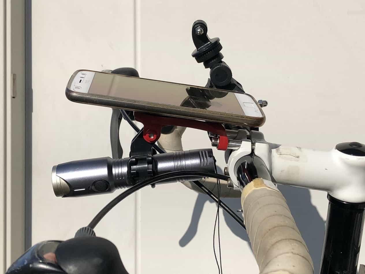 ロードバイク用ガーミンホルダー