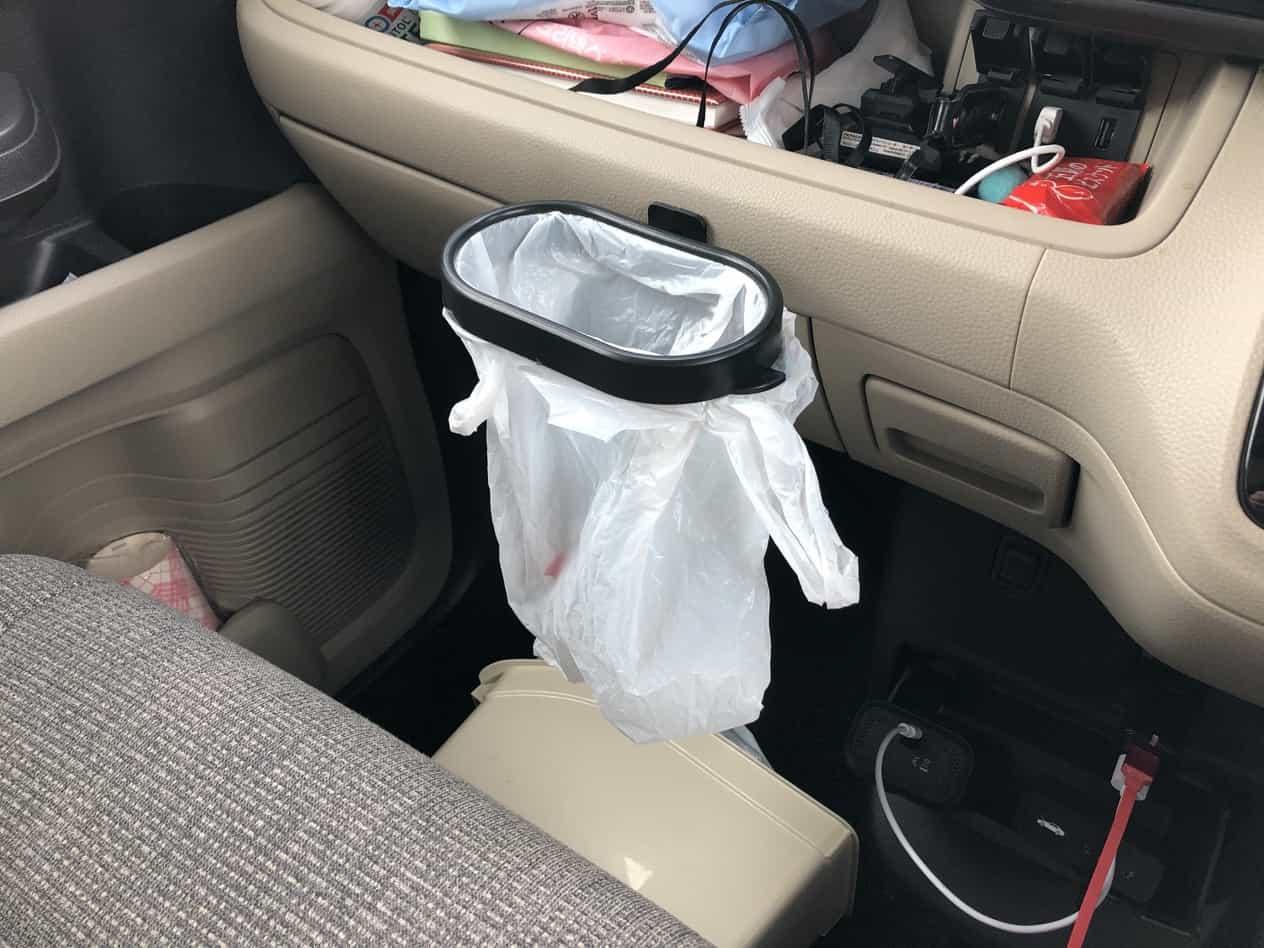 車内ゴミ箱改善