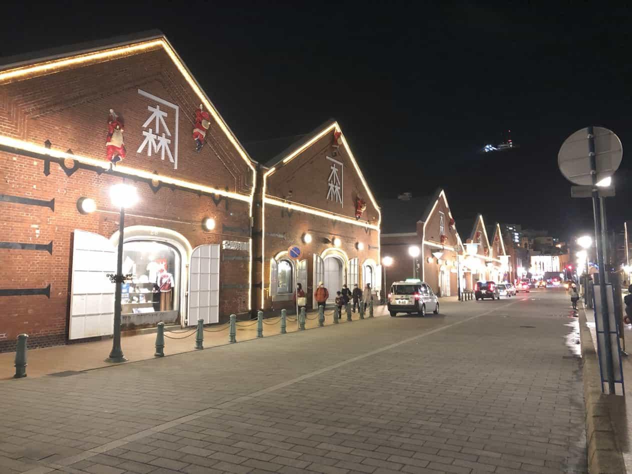 函館街のイルミネーション