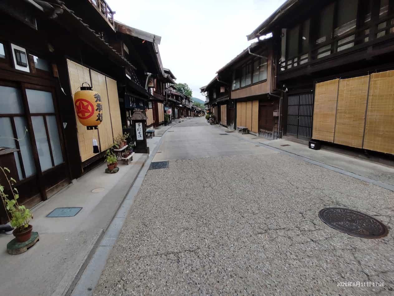 お盆の奈良井宿