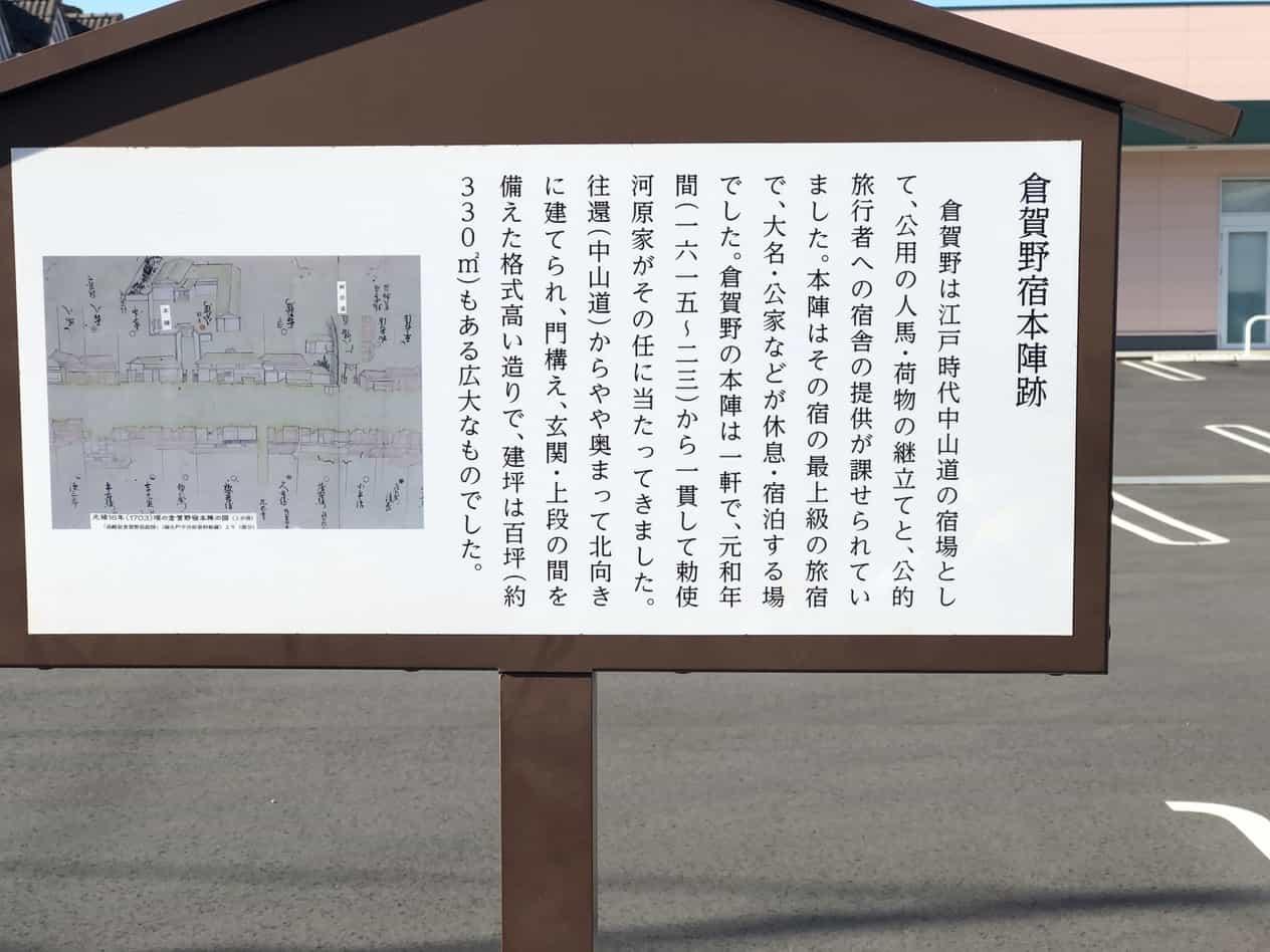 中山道69次12番倉賀野宿
