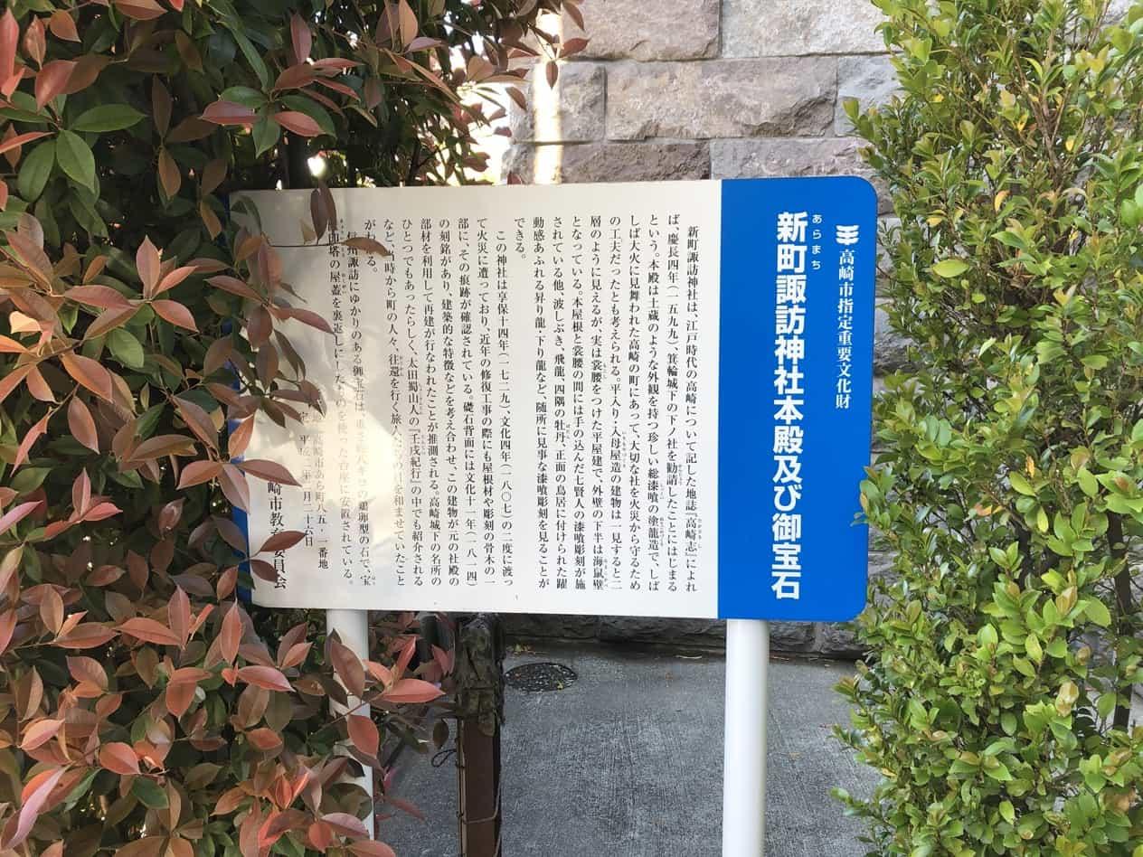 中山道69次13番高崎宿