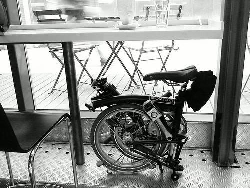 自転車がスゴイのか本人がスゴイのか