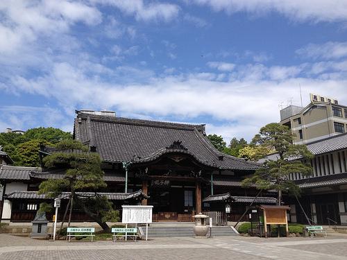 忠臣蔵~泉岳寺のルートデータ