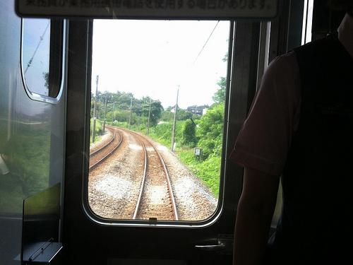 渋川から本庄まで障害物無しほぼノンストップで走れる(1)
