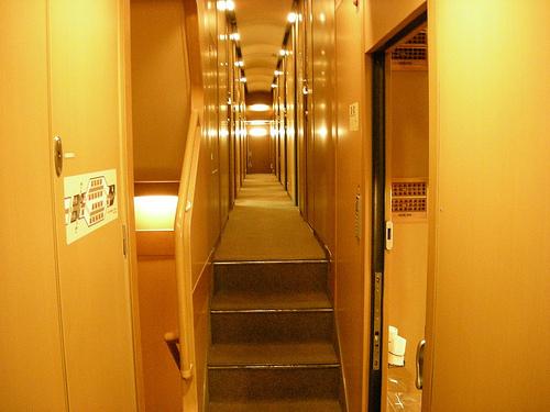 サンライズ瀬戸列車内とシングル部屋の印象
