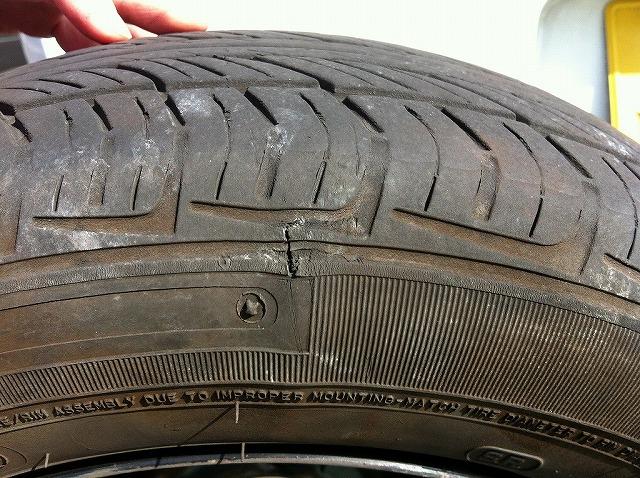 クルマ全般のタイヤについての注意項目(プレオRAを例)
