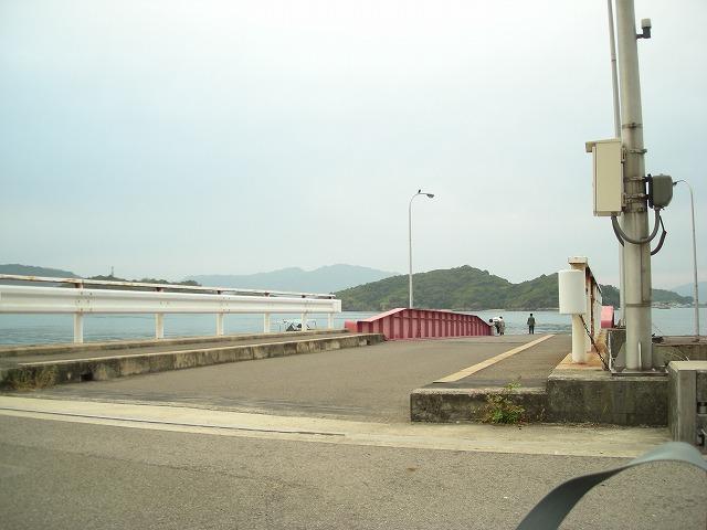 多々羅大橋から因島で船に乗るまで