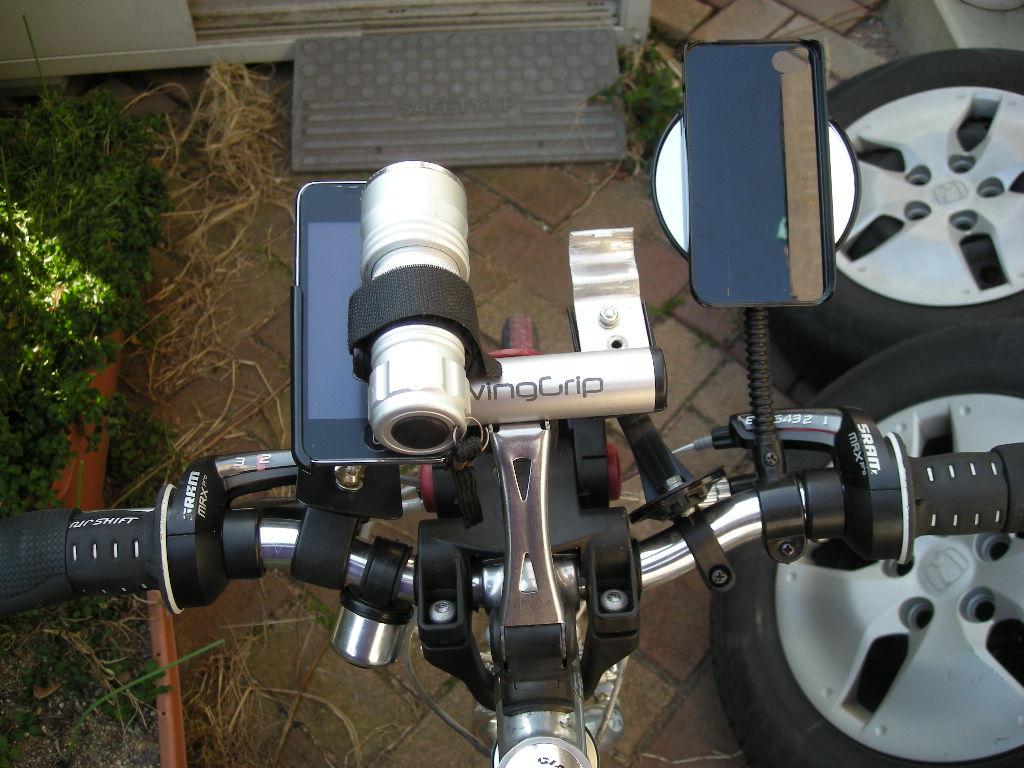 ポケモンGOが流行っていて自転車ハンドルにスマホ付けて走りたい人も増えているだろうが自作はやめとけという話