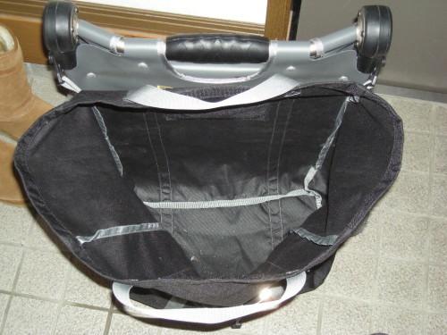 burley travoy サイクルトレーラーのバッグ