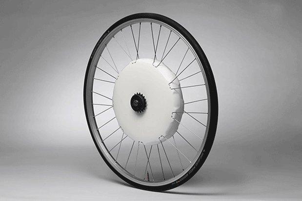後付で電動アシスト自転車にできるホイール実用化近いか