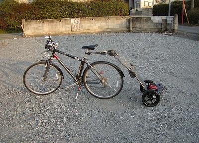 TRAVOYサイクルトレーラー