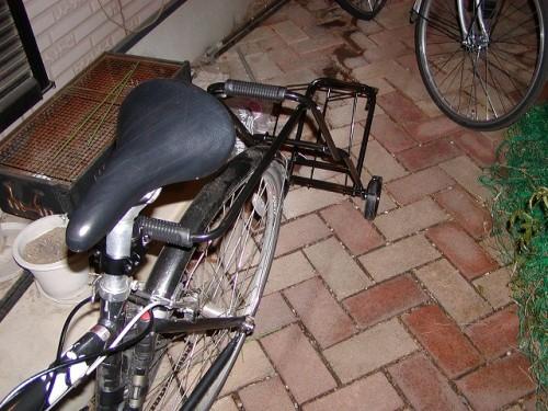 自作サイクルトレーラー