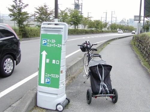 軽井沢駅前歩道