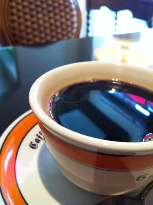 松江クーランデエールのコーヒー