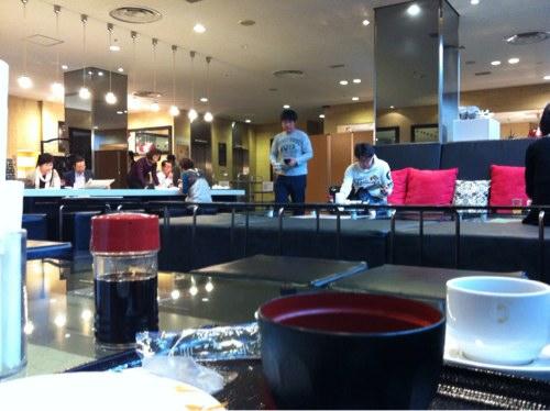 グリーンリッチホテルの朝食