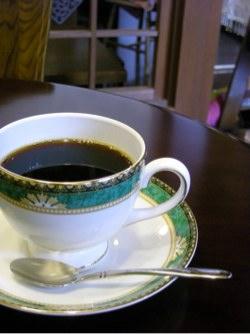 行田音時計のコーヒー