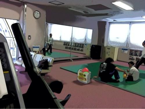 さくら運動公園のトレーニングジム