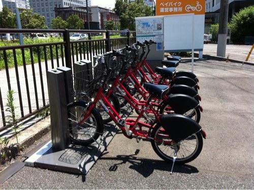 私も利用した横浜ベイバイクが好調らしい