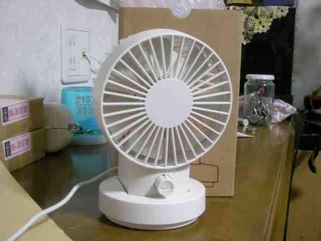 無印良品のUSB静音扇風機