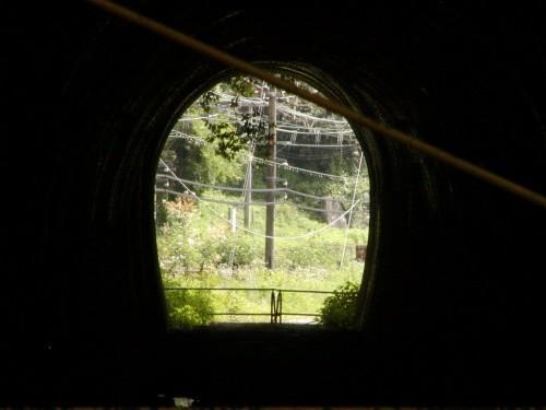 トンネル跡